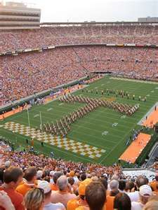 Neyland Stadium in Knoxville, Tennessee!