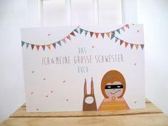 ♥ICH&MEINE GROSSE SCHWESTER♥ Buch von ava&yves auf DaWanda.com
