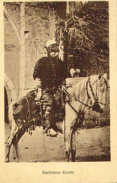 Kurdish Soldier, Ottoman empire, WWI. ➡ http://photos.bulgarianorders.com/ext/en/exrw.php/item=1977/opsold/Postcards/Ethnic-PCs/WWI-Turkey-Kurd-Kurdish-man-ethnic-postcard-R.html