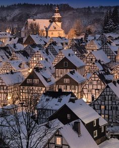 Freudenberg - First snow by MichaelBrss