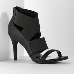 Simply Vera Vera Wang Banded High Heels - Women