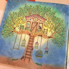 #secretgarden #secretforestocean #johannabasford  #artsharecircle #coloringbyadults #beautifulcoloring #creativelycoloring #coloring_secrets #tabrakwarna #ekapresiwarna #adultcoloring #coloroftheday