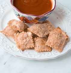 I'm so excited to try these Toasted Ravioli that Julie from Confessions of a Cooking Diva has brought to share with us today!! Enjoy… Toasted Ravioli the perfect crunchy, cheesy snack.   Kids are forever hungry, aren't they? Feed them a meal and 30 minutes later they are hungry again. It's hard to stay clever …