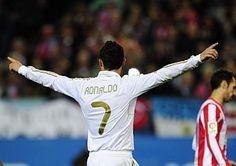 Huracán Cristiano en el Manzanares: lidera con un hat-trick al Madrid en la victoria por 1-4 al Atlético