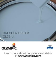 DRESDEN DREAM OL751.4 is a part of the blues collection by Olympic® Paint.  *Boys Room*