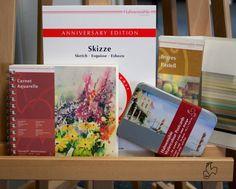 Sommerprodukte von Hahnemühle #notebook #diary #stationery #notizbuch #tagebuch #papier #notizbuchblog