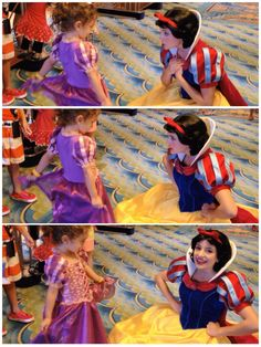 Disney Magic Cruise: Ultimate Family Guide << read about the sweetest Snow White ever on the Disney Magic
