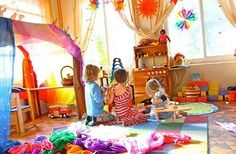 10 Ways to Make Your Home Magical   A Magical Childhood - inspiration for a child-friendly inspiring home nest space :)