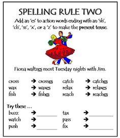 Spelling Rule 2