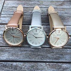 Horloge Ernest ANDREA Metallic Rose