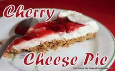Low Carb Cherry Cheese Pie | FaveHealthyRecipes.com