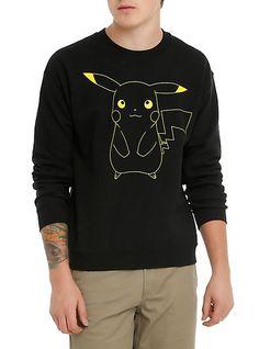 Pokemon Pikachu Crew Pullover | Hot Topic $36.50