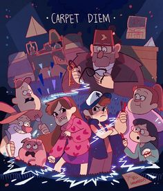 16 - Carpet Diem Constant — Gravity Falls [S01 Episode 01~05]