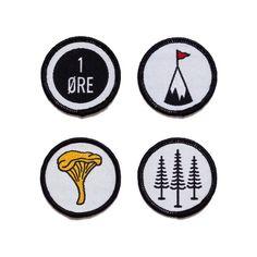 The Creatørs Club • The Land badge set