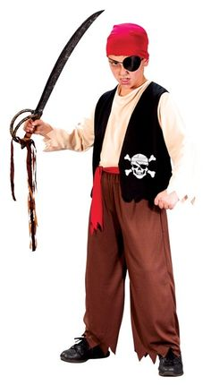 Awesome Costumes Playful Pirate Child Costume just added... Boys Pirate Costume, Halloween Costumes Kids Boys, Pirate Kids, Boy Costumes, Halloween Party, Costume Ideas, Awesome Costumes, Children Costumes, Halloween Toys