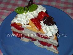 Rýchla nepečená ovocná torta s bielym jogurtom - Báječné recepty Yummy Cookies, Waffles, Cheesecake, Breakfast, Desserts, Food, Bedrooms, Cakes, Morning Coffee