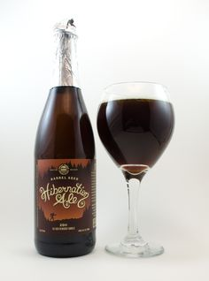 """Great Divide """"Barrel-Aged Hibernation Ale""""  92A-     This limited-release Old Ale was aged in old whiskey barrels, using the original..."""