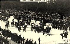 TSAR NICOLAS II visite à Paris en 1901
