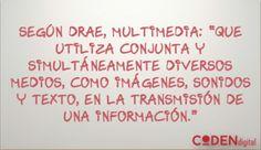 Definición de multimedia según DRAE