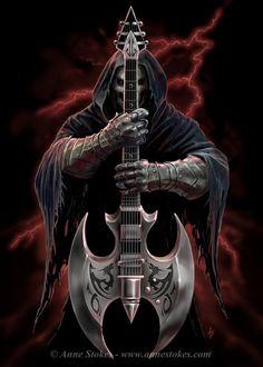 Heavy Metal Art