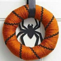 Guirnalda con araña
