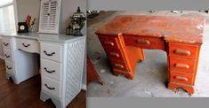 Astonishing Useful Ideas: Victorian Furniture Antique retro furniture. Patio Furniture Redo, Furniture Hacks, Creative Furniture, Cheap Furniture Makeover, Distressed Furniture, Diy Furniture Projects, Furniture Makeover, Cool Furniture, Retro Furniture