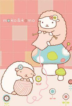 Moko&Komo - This knitting project is for my friend Lea Kobayashi.