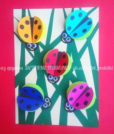 Summer crafts ladybugs children's crafts Best Picture For Spring Crafts For Kids babies For Your Taste You are looking for something, and it is going. Kindergarten Art, Preschool Crafts, Easter Crafts, Fun Crafts, Diy And Crafts, Christmas Crafts, Arts And Crafts, Spring Crafts For Kids, Summer Crafts