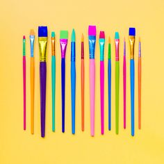 paintbrushes - #candyminimal by matt crump