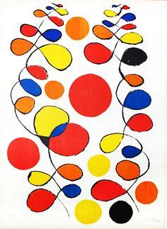COPEAUX DE SPIRALES - Alexander Calder
