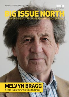 Big Issue North magazine available from 21-27 September 2015 - more info here: https://www.facebook.com/bigissuenorth/photos/a.380289709311.157897.141153619311/10153704170754312/?type=1&theater.  Thank you for your support. Find out more on bigissuenorth.com.