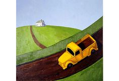 Yellow Truck II by Scott Redden, 1999