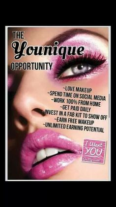 Im offering 3 ladies a great opportunity to join my team... no pressure to sell wrk your own hours.. fantastic range of #makeup & #skincare products... ask me how to xx Look at my link   Youniqueproducts.com/sarahjcarter