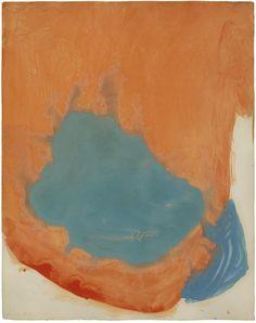 Frankenthaler, Untitled, 1960