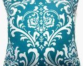 blue pillow etsy 25$