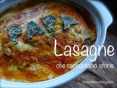 Lasagne che raccontano una storia