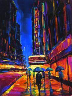 Big City of Dreams by artist Michael Flohr