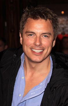 I met John Barrowman at a FanExpo in Toronto I think I made him smile that was fun