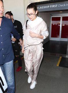 Bella Hadid is seen on February 16 2018 in Los Angeles California