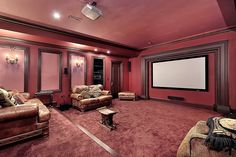 Top 70 Best Home Theater Seating Ideas - Movie Room Designs Home Cinema Seating, Home Cinema Room, Home Theater Rooms, Best Home Theater, Home Theater Design, Media Room Seating, Small Media Rooms, Small Home Theaters, Sofas