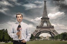 Grafismo #Sarkozy