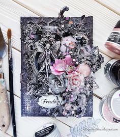 "Handmade by Nadya Drozdova: Canvas ""Freedom"""