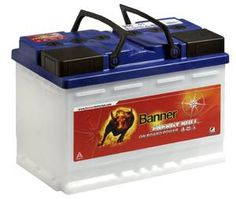Banner Power Bull P7412 12V/74Ah Premium Battery Starter Car Battery NEW