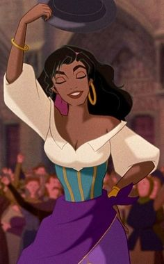 Esmeralda from The Hunchback of the Notre Dame, Disney. Description from pinterest.com. I searched for this on bing.com/images