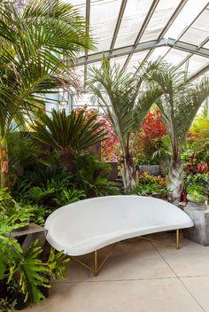 Helios Heated Outdoor Lounge by Galanter & Jones at Flora Grubb Gardens, San Francisco