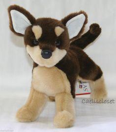 Douglas Paco CHIHUAHUA Plush Brown Stuffed Puppy Dog Cuddle Toy NEW #DouglasCuddleToy