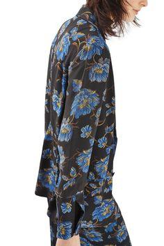 TOPSHOP | Floral Pajama Blazer from @NordstromRack #nordstromrack