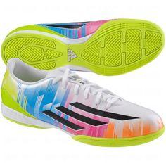 Adidas Men s F10 IN Messi - (Running White Black Solar Slime) ( 15f19bfef7f91