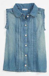 Dolce Denim Shirt (Little Girls & Big Girls)