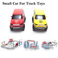 (2ピース/ロット)小型車用トラックtoys特別トロリー用レールプラスチック車toys
